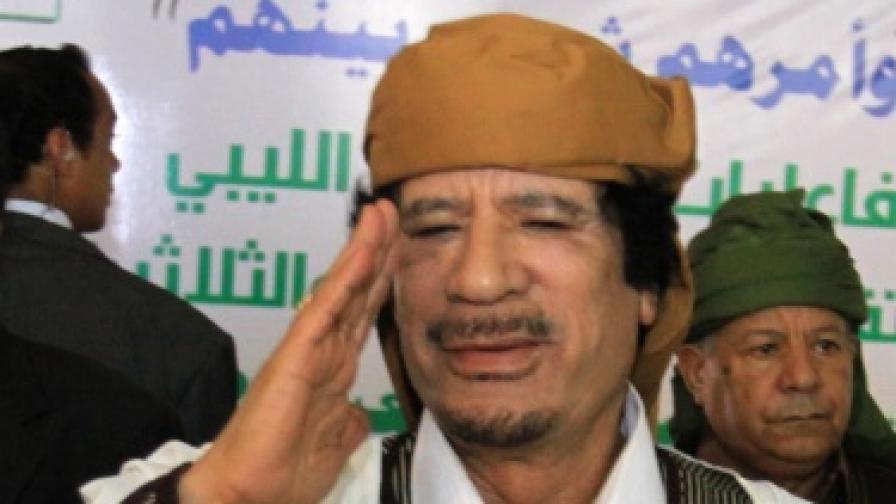 Лондон и Париж: Кадафи да си ходи!
