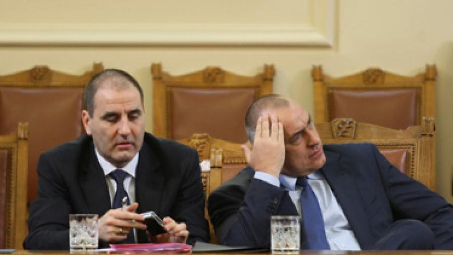 """""""Медиана"""": Борисов губи 10%, Цветанов - 17%"""
