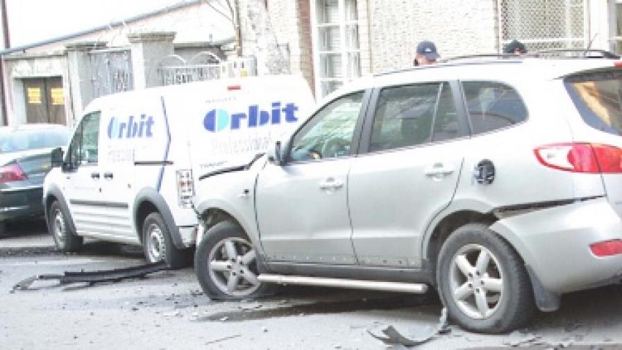 Взривиха джип на зам.-кмета на Стара Загора