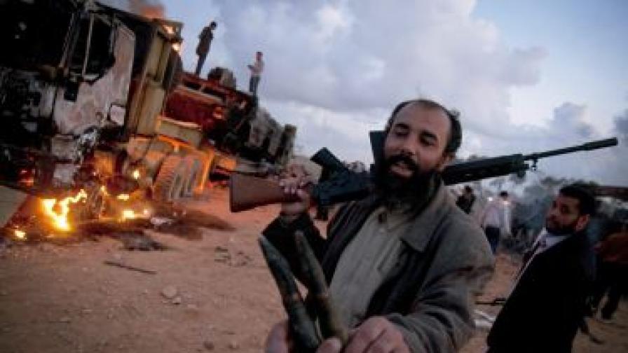 Либийски бунтовник