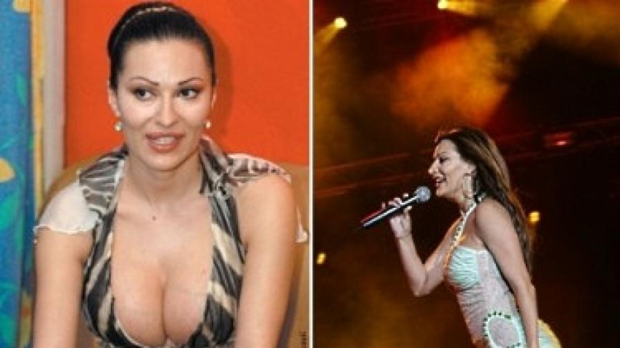 Цеца Величкович (снимки от 2004 и 2006 г.)