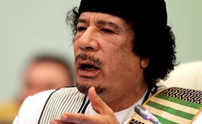 Кадафи е в Либия и ще остане там