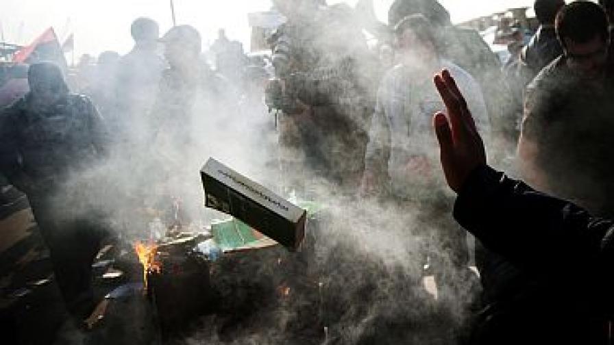 Либийските бунтовници: Никога екстремистко правителство!