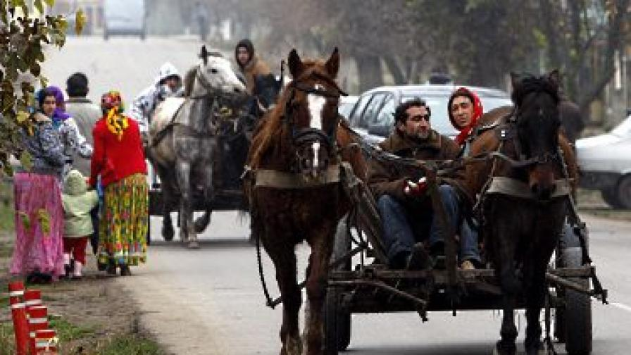 Ромите в Румъния няма да са цигани