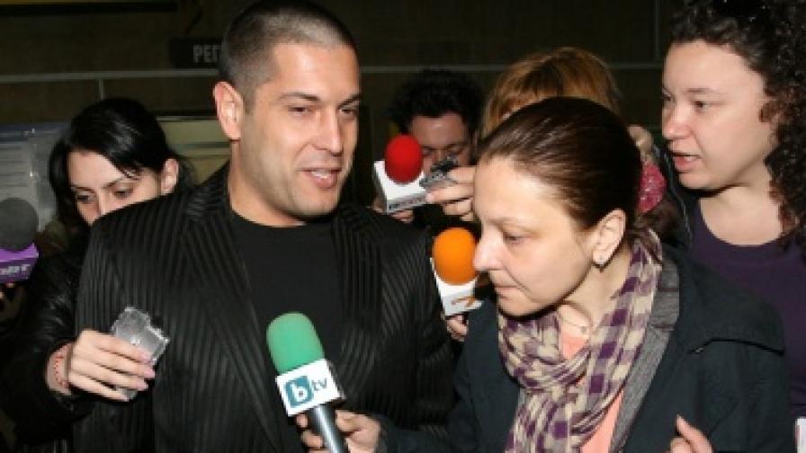 Красимир Георгиев - Красьо Черния, след заседанието днес на Софийския районен съд