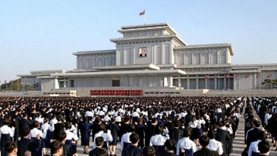 """""""Денят на слънцето"""" в Северна Корея"""