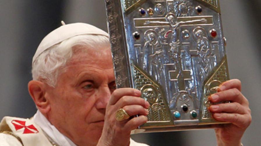 Папата за първи път като гост в токшоу