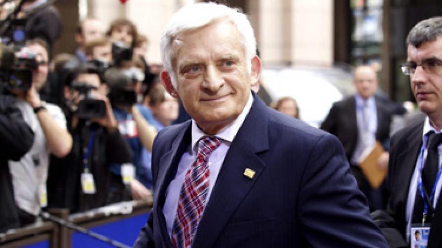 Председателят на Европейския парламент Йежи Бузек