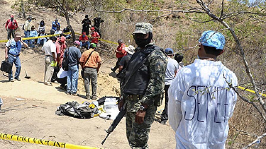 Пет жени бяха намерени с прерязано гърло в курорта Акапулко