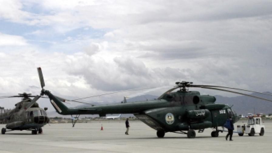 Кавга с трупове на военно летище в Кабул