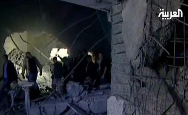Удар на НАТО убил син и внуци на Кадафи