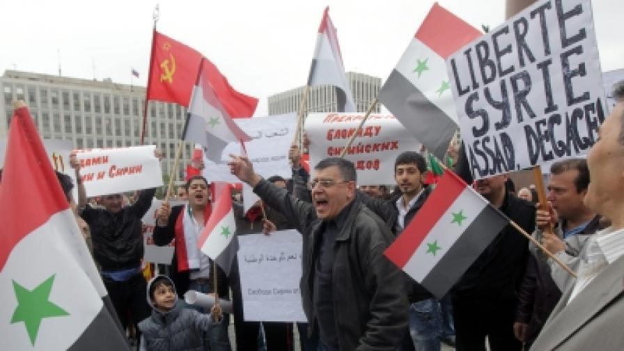 Още 500 души арестувани в Сирия