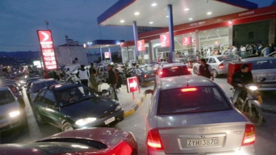 Таван за цените на горивата в Гърция