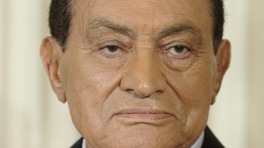 Тъжен и депресивен рожден ден за Мубарак