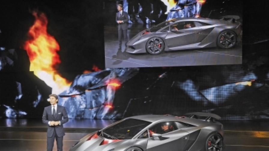"""""""Ламборджини"""" продаде 20 коли по 1,9 млн. долара всяка"""