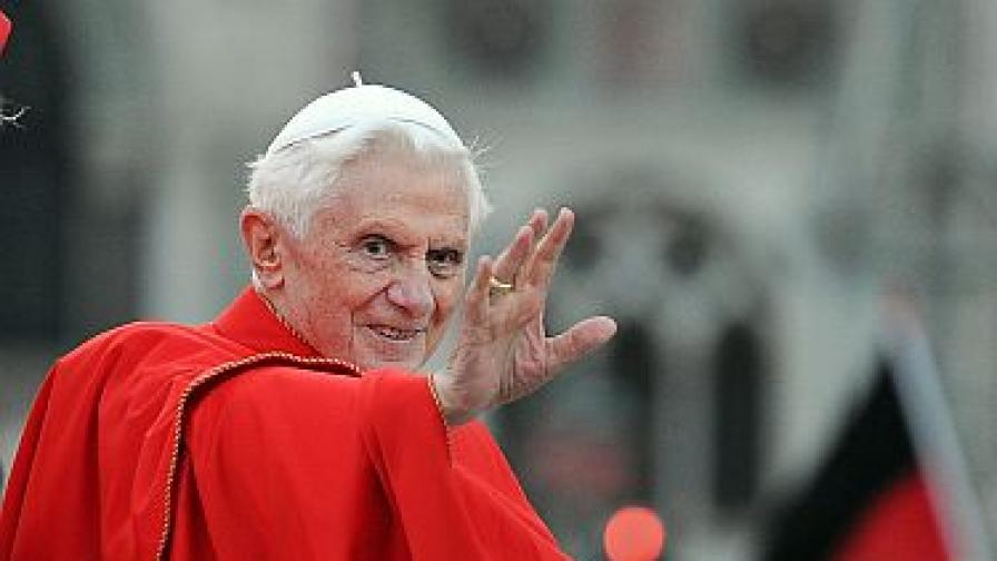 Българин писа на папата за 8-и грях