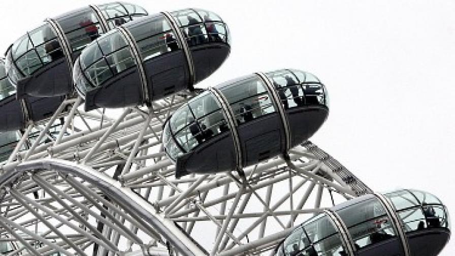 Гигантското виенско колело Лондонското око