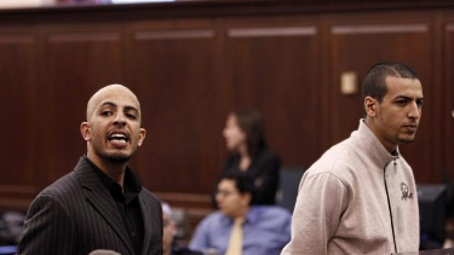 Ахмед Ферхани (вляво) и Мохамед Мамдух
