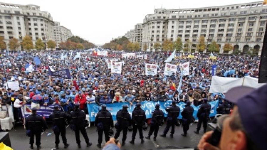 Румъния е излязла от рецесията