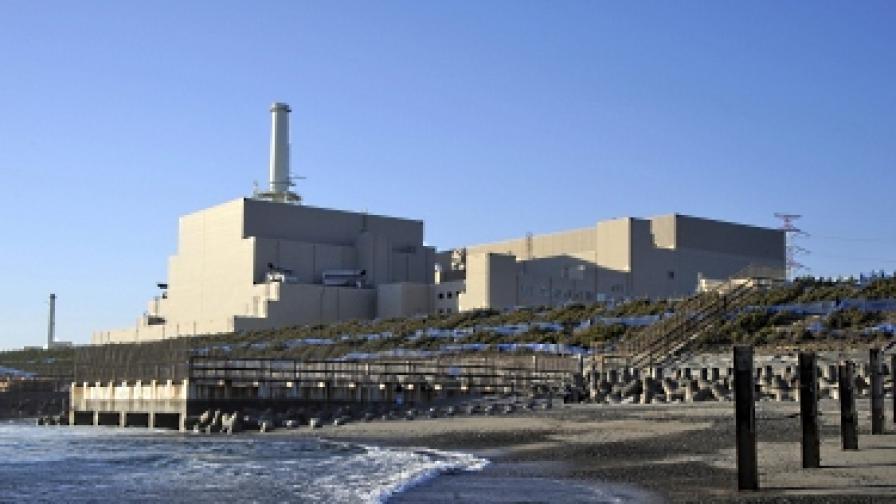 """Морска вода е влязла в ядрото на реактор на АЕЦ """"Хамаока"""" в Япония"""