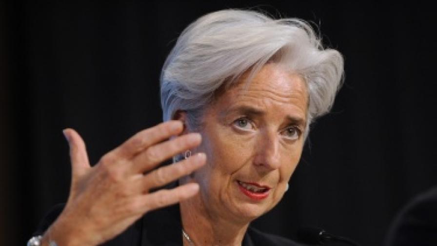Кристин Лагард се кандидатира за шеф на МВФ