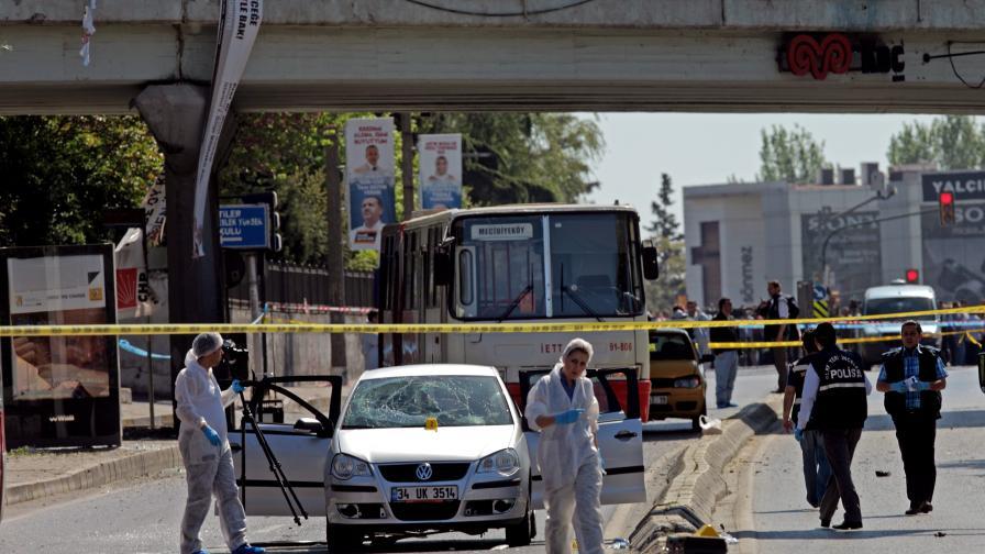 Взрив в Истанбул на километър от консулството ни