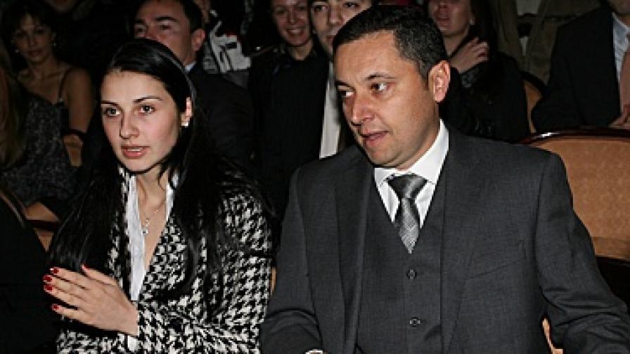 Янев и Галя на честването на пет години от създаването на РЗС