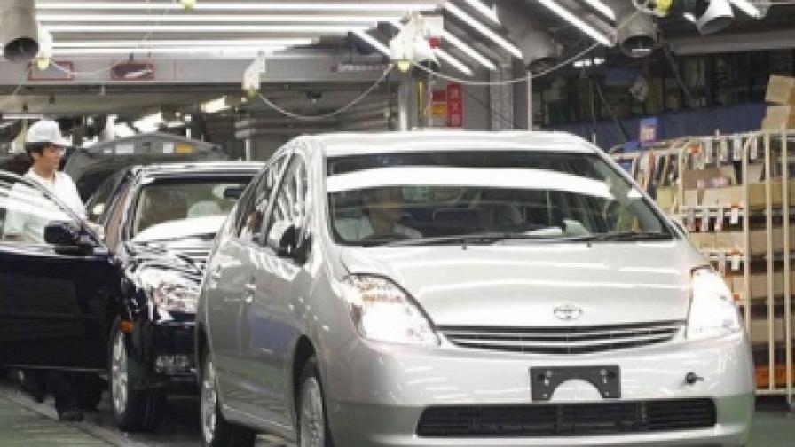 """Производството на """"Тойота"""" - на нивата от 1976 г."""