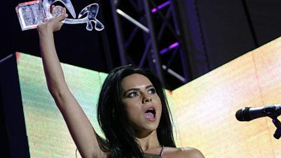 Инна - звездата на Балканите за 2011 г.