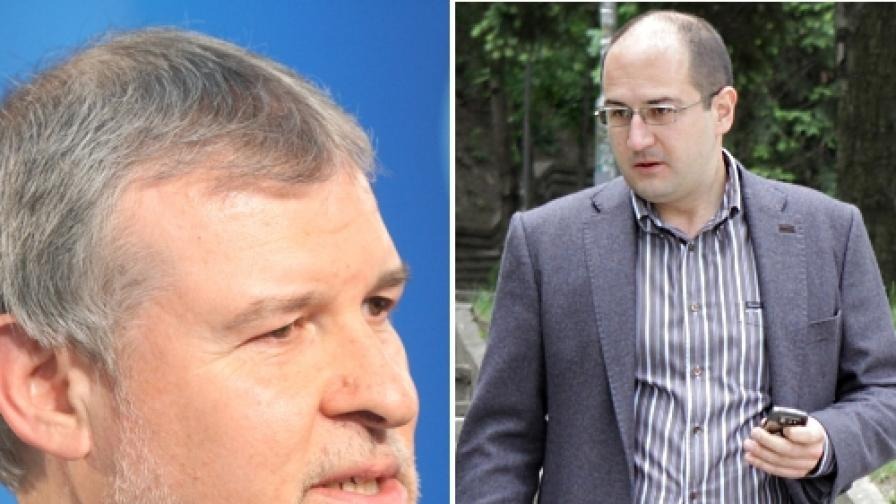 Румен Христов (л) и Прошко Прошков