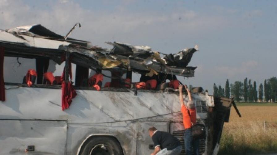 """16 юни - ден на национален траур за загиналите на магистрала """"Тракия"""""""