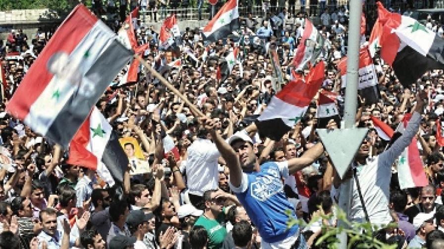 Президентът на Сирия Башар ал Асад обяви обща амнистия
