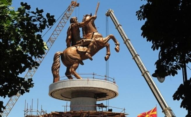 Пищното обновяване на Скопие  предизвиква критики и подигравки