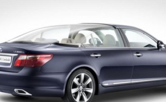 Сватбеният автомобил на принц Албер