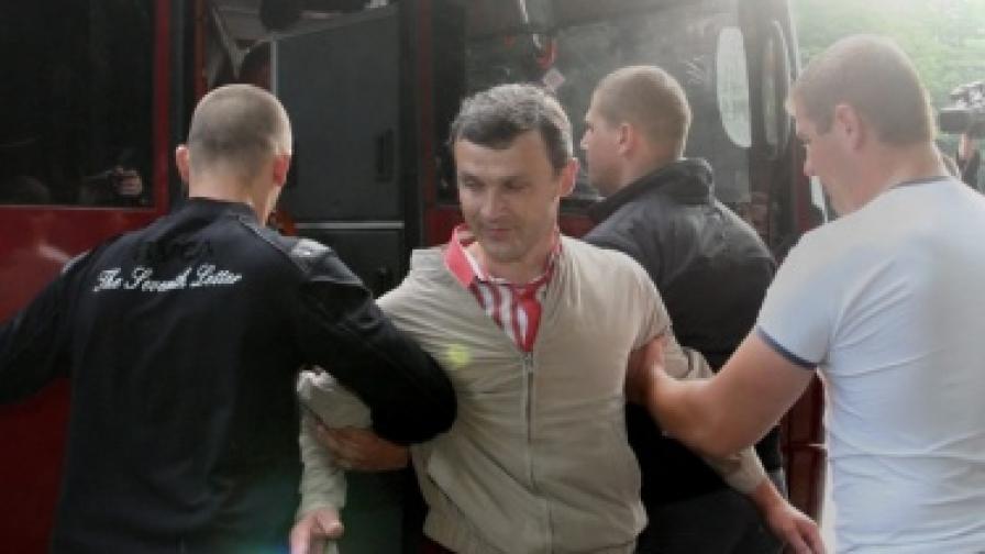 Българинът Димитър Кенаров арестуван в Беларус