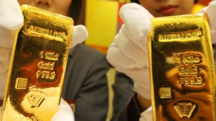 Спестяванията в злато - най-доходоносни