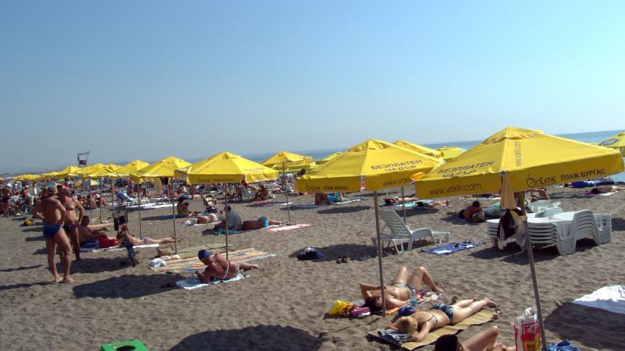 """160 патрона от """"Калашников"""" на бургаския плаж"""