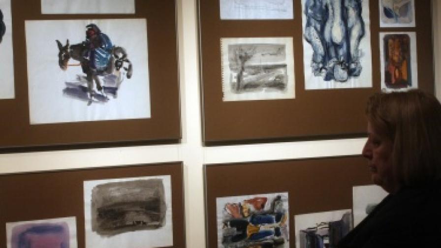 """Юбилейна изложба през април 2009 г.""""110 рисунки"""" от фонда на Галерия-музей """"Дечко Узунов"""" по повод 110 години от рождението на големия художник (1899-2009)"""