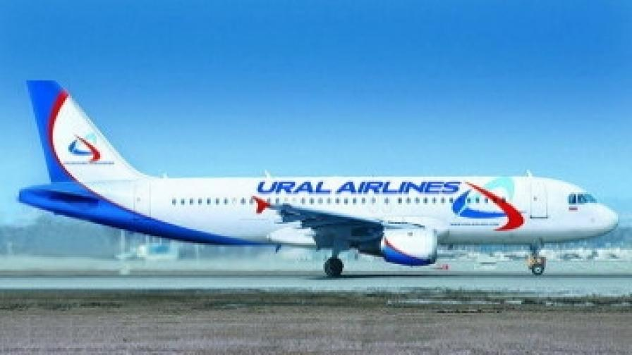 Аварийно кацна самолет, излетял от Бургас