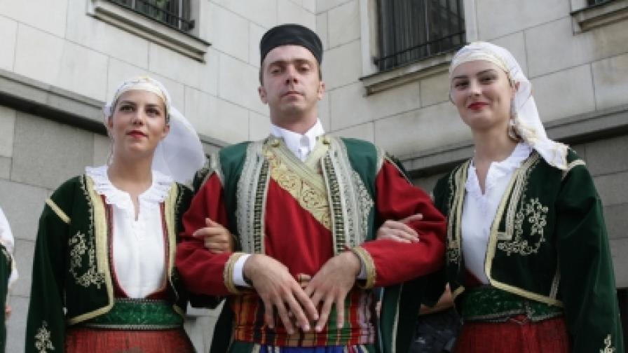 """Четвърти фолклорен фестивал """"София"""""""