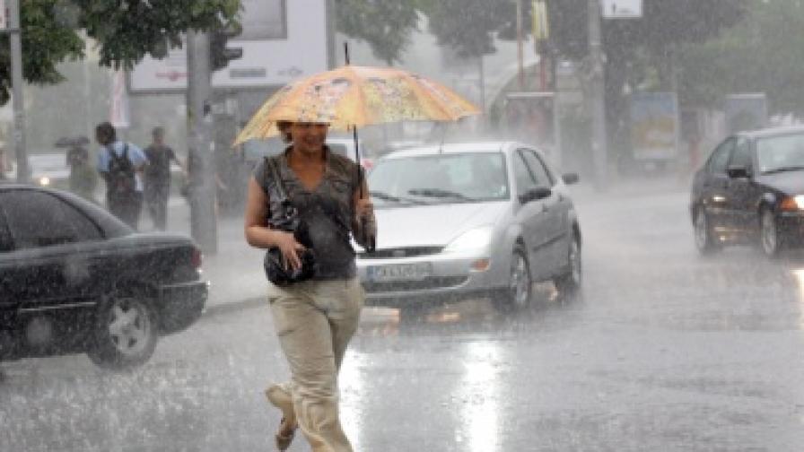 30 л/кв. м дъжд в Ловеч през изминалата нощ