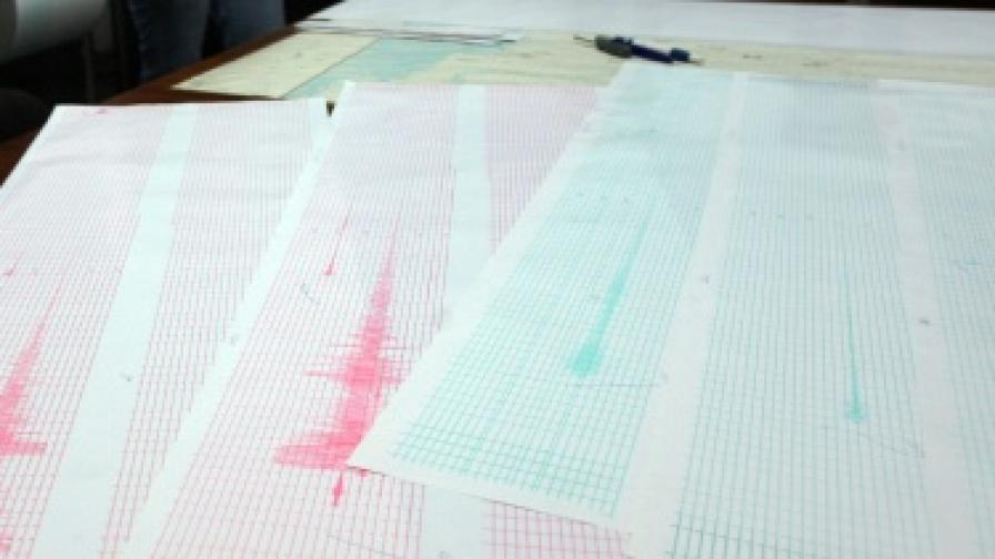 Слабо земетресение в Ямболско и Хасковско