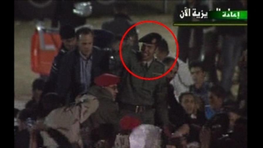 През март либийската национална полиция показа кадри, за които се твърдеше, че са на живо, на Хамис, за да опровергае тогавашните съобщения за смъртта му