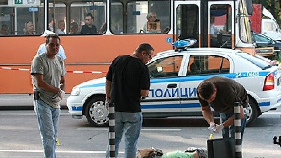 "Почина Мартин, който стреля на бул. ""Гоце Делчев"""