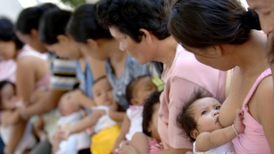 Агресията сред децата - заради некърменето им