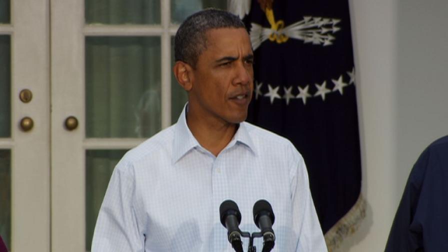 Обама обяви състояние на голямо природно бедствие
