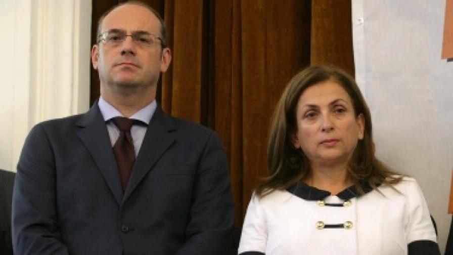 Кандидатът на РЗС за вицепрезидент - Поля Станчева