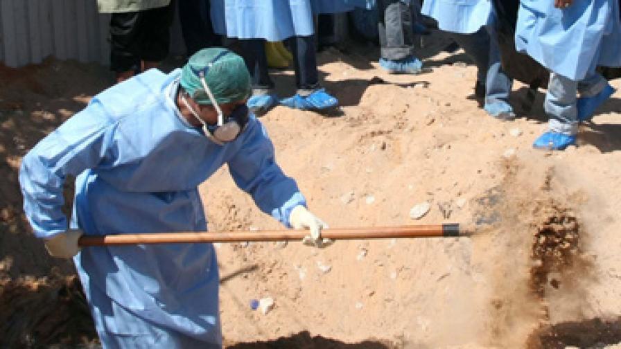 Откриха масов гроб в Западна Либия