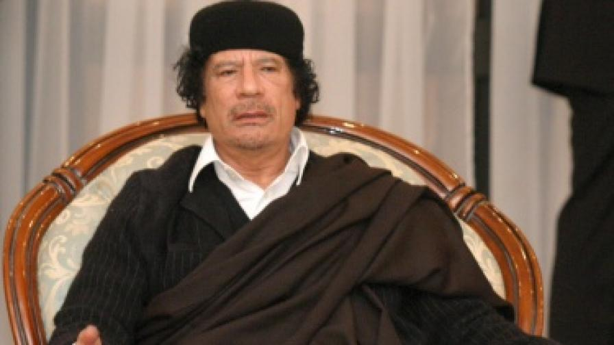 "Муамар Кадафи - ""беден и честен"""