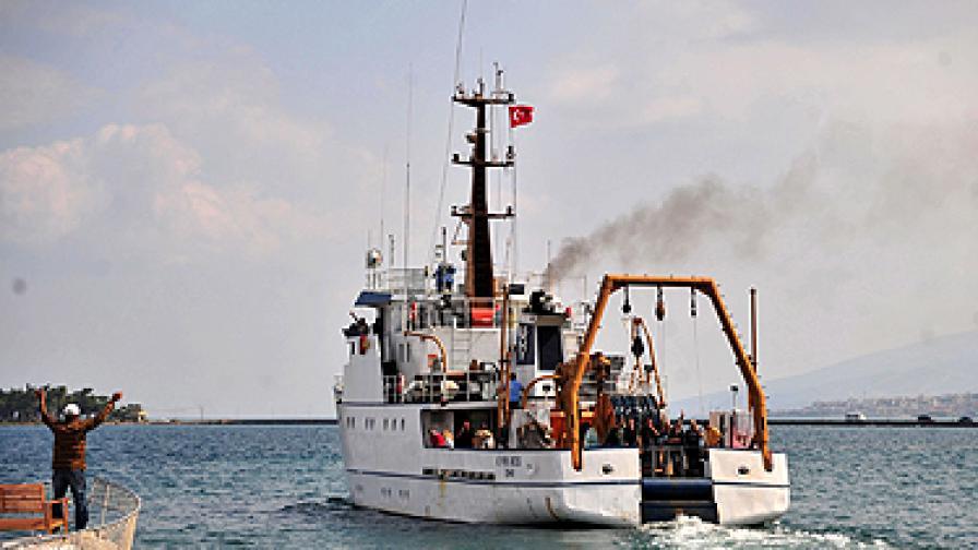 """Турският изследователски кораб """"Пири реис"""""""